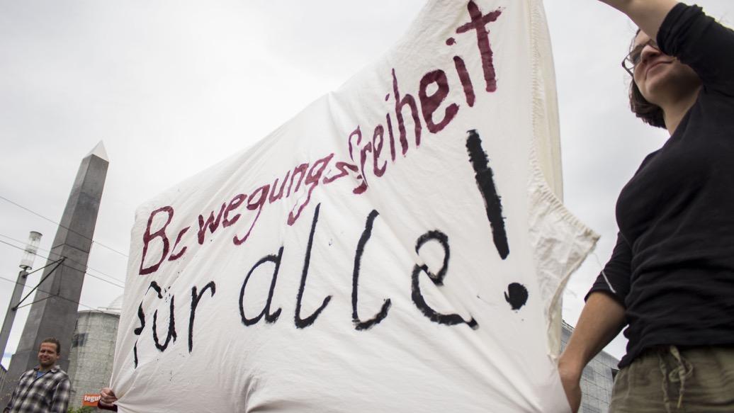 Bewegungsfreiheit Banner II