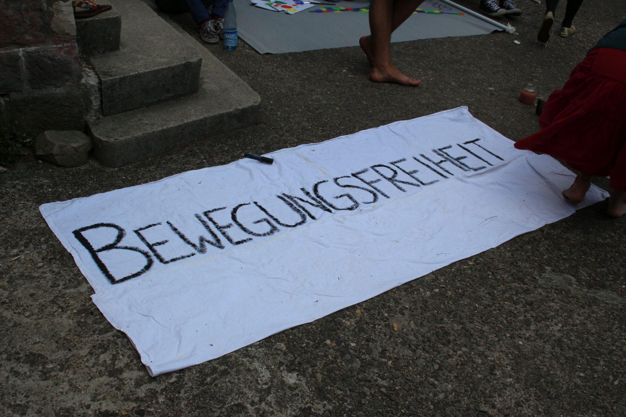 Banner Bewegungsfreiheit
